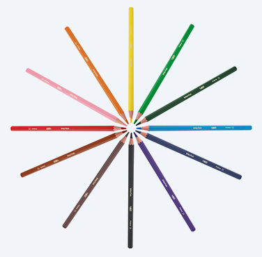 BIC® KIDS® EVOLUTION® ECOLUTIONS® COLOURING PENCILS