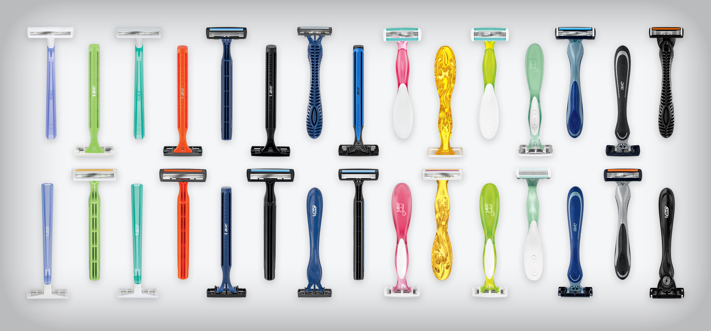 BIC razors for men and women