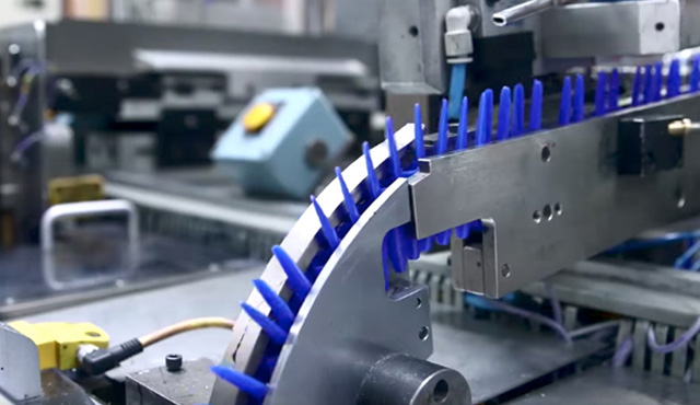 pens in a factory